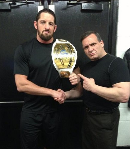 Wade Barrett and The Brooklyn Brawler
