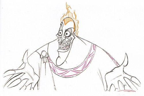 Walt disney Sketches - Hades