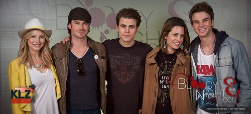 Banner from 2013 Bloody Night Con in Brussels [May 2013]