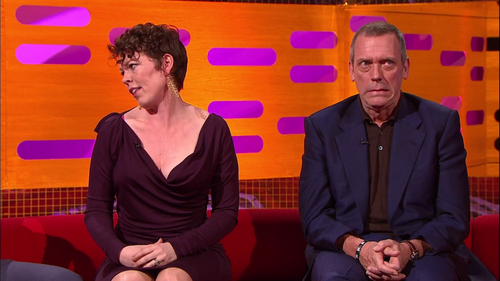 Hugh Laurie and Olivia Colman the Graham Norton دکھائیں 10.05.2013