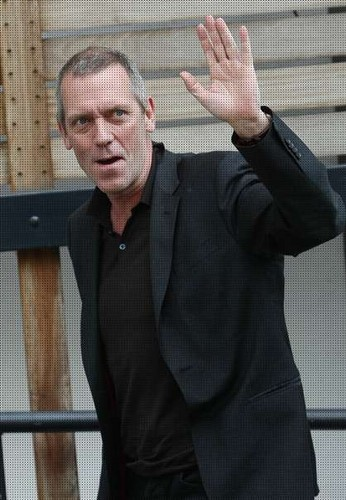 Hugh Laurie in london 06.05.2013