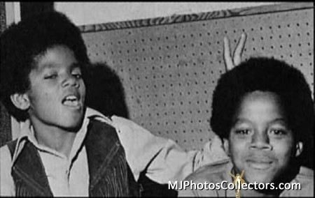 Michael And Older Brother, Marlon
