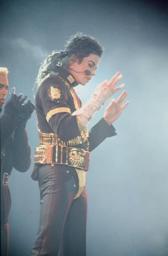 Michael on Dangerous Tour