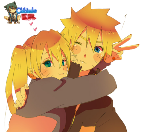 Naruto and Naruto Uzumaki