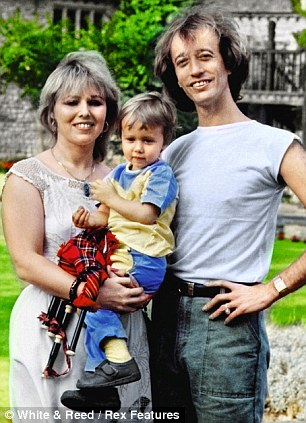 Robin, Dwina and their son RJ