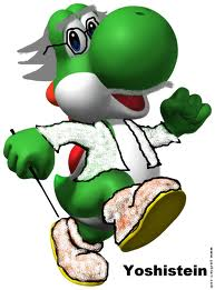 The smartest Yoshi out there.