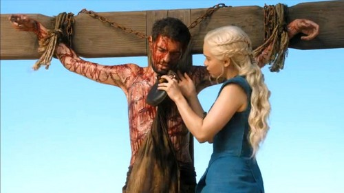 dany and slave