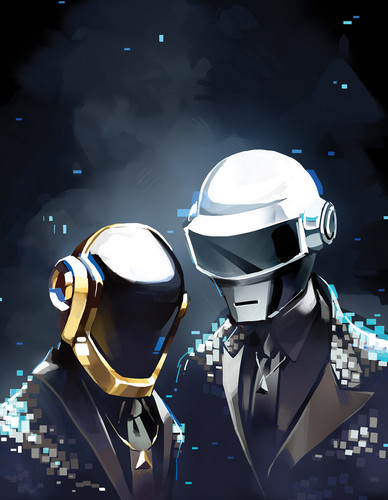 """Daft Punk images """"Get Lucky"""" by Sarah Stone HD wallpaper ..."""
