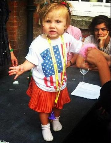 ♥ Harry & Baby Lux!