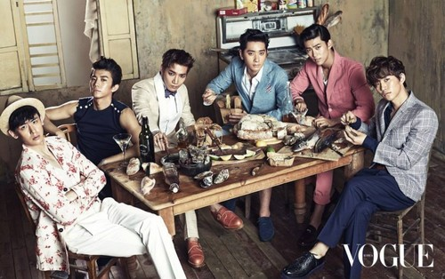 2PM ~ Vogue Magazine June 2013
