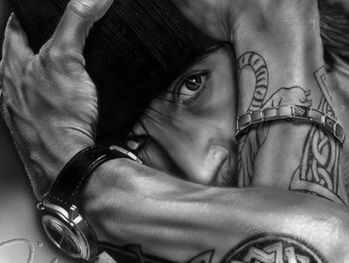 Anthony Kiedis portrait