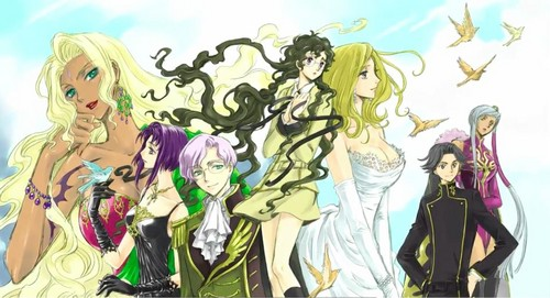 Code Geass R2 Ending 2 Artwork