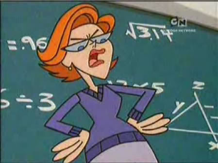 Dexter's teacher is Dexi?!