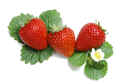 Juicy Red Strawberry