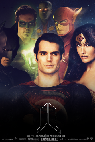 Justice League (Fan Made) Poster