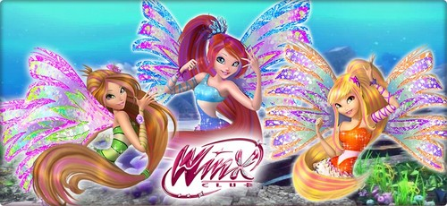 Bloom, Stella & Flora 3D Sirenix Wallpaper~