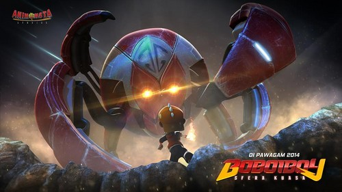 BoBoiBoy The Movie: Sfera Kuasa. Coming soon in 2014!!
