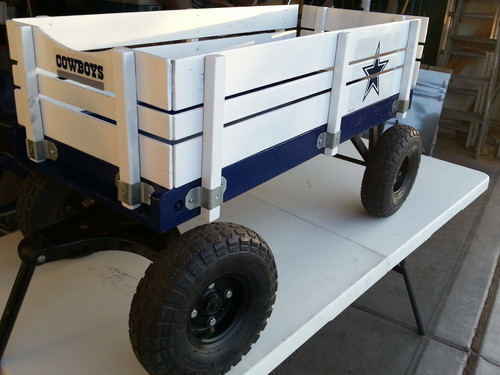 Cowboys wagon