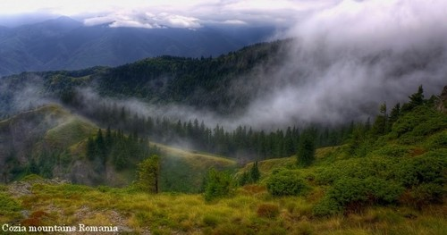 Cozia massive Carpathian mountains Romania eastern europa