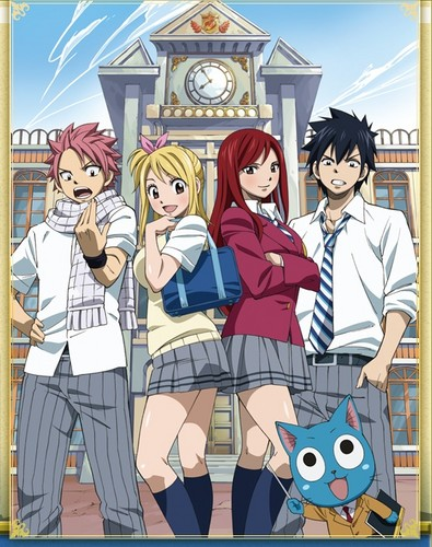 Fairy Tail OVA 2: Yankee-chan and Yankee-kun