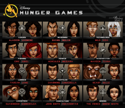Hunger Games meet Disney