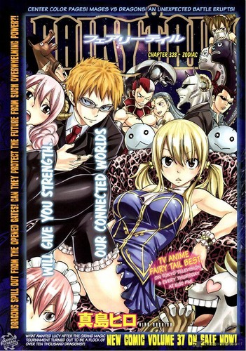 Lucy & her Celestial Spirits