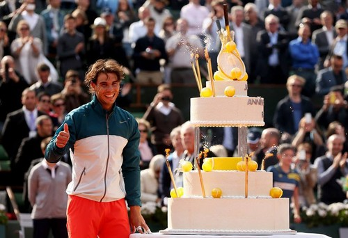 Rafael Nadal 27th birthday