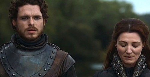 robb and cat