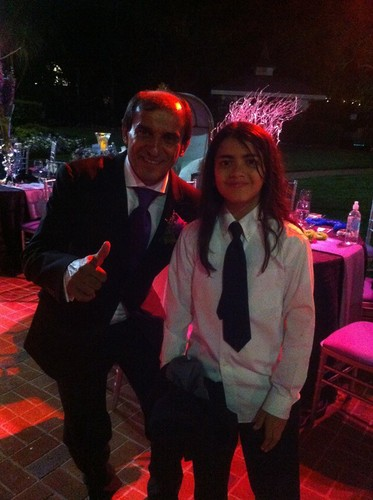 ? and Blanket Jackson at Taj Jackson and Thayana's wedding 2013 ♥♥
