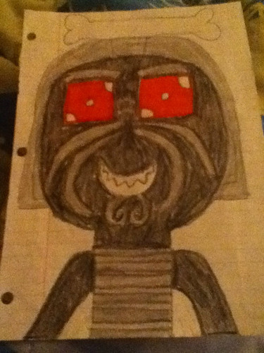 Garmadon Cutie Drawing