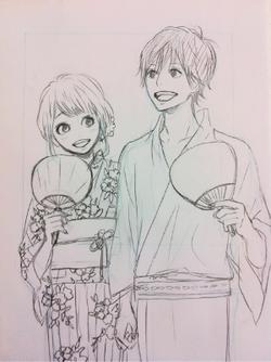 Kakeru and Naho orange takano ichigo 34764556 250 334