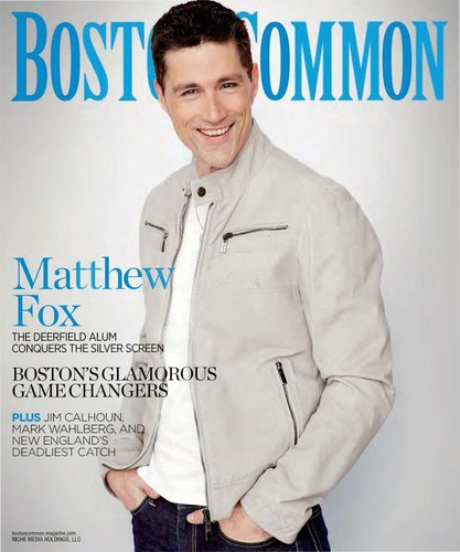 Matthew rubah, fox - Boston Common Magazine Photoshoot [Spring 2013]