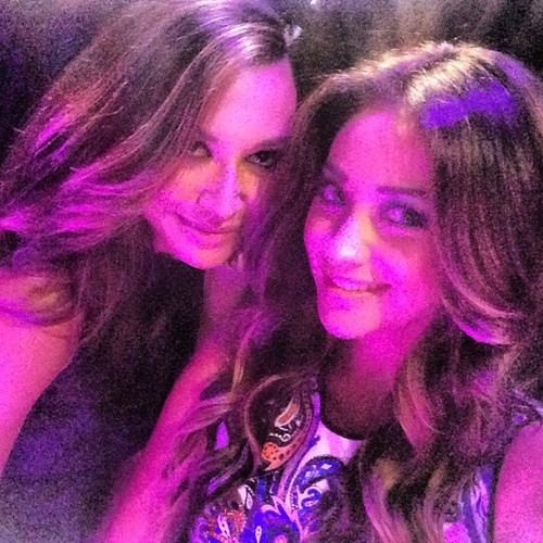Naya Rivera & shay mitchell
