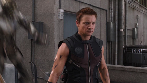 The Avengers Climax - Hawkeye