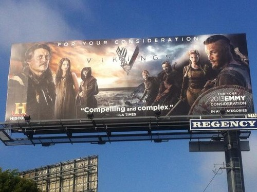 Vikings Billboard