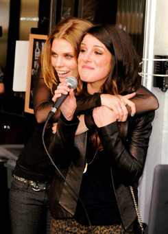 Annalynne Mccord and Shenae Grimes 2008 - 2013