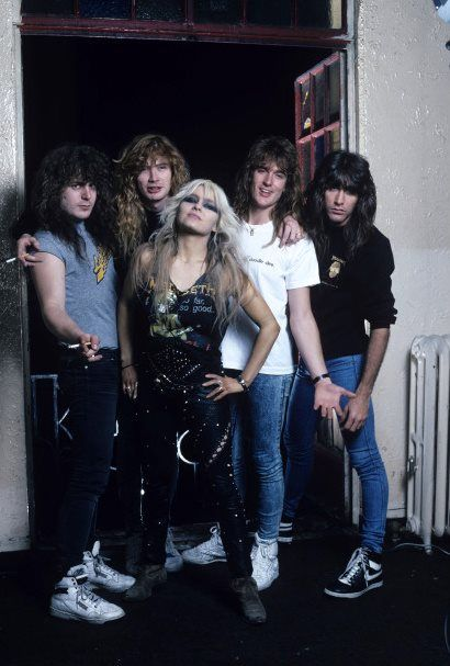 Doro with Megadeth