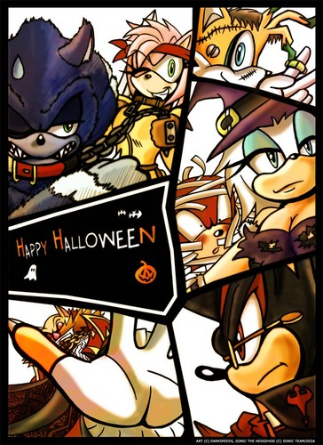 Halloween for sonic