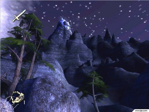 LOTR: Fellowship of the Ring (video game) screenshot