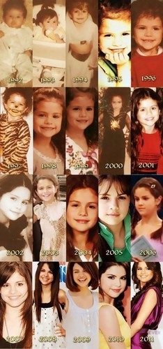 Selena Gomez Through The Years