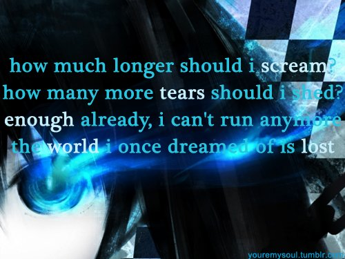 The world I once dreamed - BRS