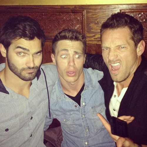 Tyler Hoechlin , Colton Haynes and Ian Bohen