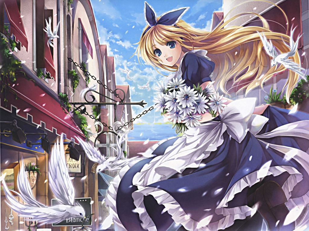Alice In Wonderland Wallpaper Anime Girls Wallpaper 34976874