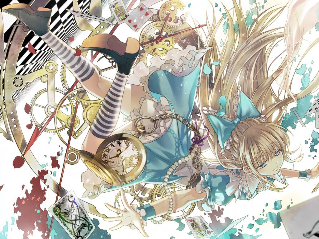 Alice In Wonderland Wallpaper Anime Girls Wallpaper 34977101