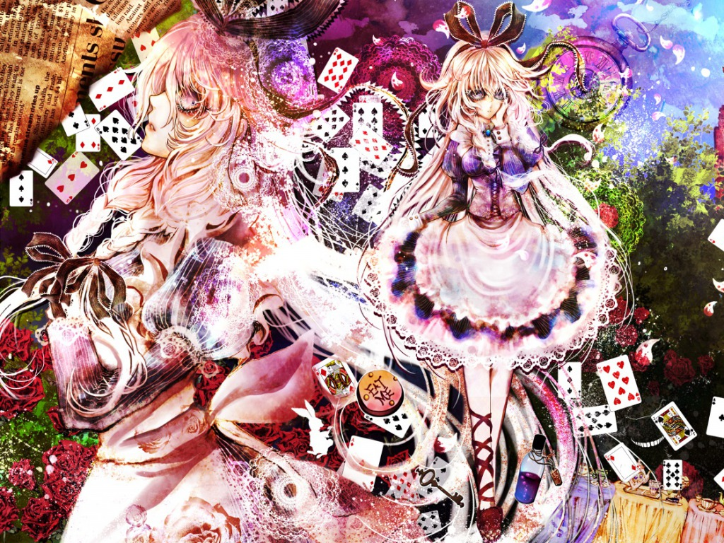 Alice In Wonderland Wallpaper Ragazze Anime Wallpaper 34977133