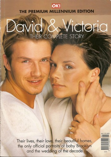 David and Victoria - Happy 14th Wedding Anniversary