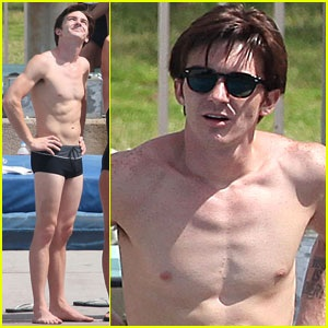 Drake Bell On Splash 2013