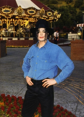 Michael At Neverland Ranch