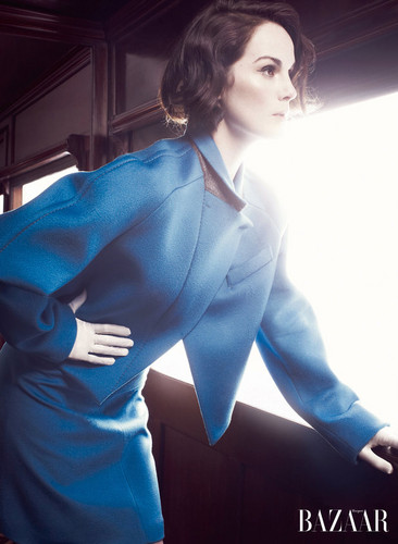 Michelle Dockery in Harper's Bazaar