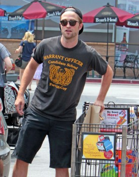 Robert grocery shopping on July 5,2013